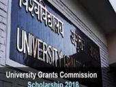University Grants Commission Scholarship 2018