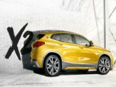 The X2 also gets what is called a shallow glasshouse when looked at by SUV standards, a BMW roundel within the C-Pillar and an angled tailgate.