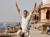 Akshay Kumar in a still from Pad Man