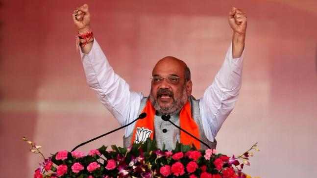 Shah launches BJP's prog to enrol those who vote first time in