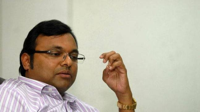Former Finance Minister P Chidambaram's son Karti Chidambaram.