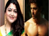 Talk about Hrithik's bare body if you talk about actresses in bikini: Khushbu Sundar
