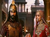 Shahid Kapoor and Deepika Padukone in a still from Padmaavat