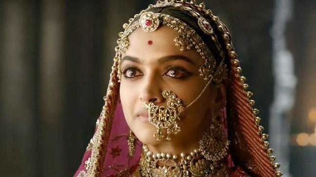 Deepika Padukone as Queen Padmini.