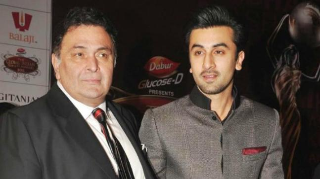 Rishi and Ranbir Kapoor