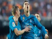 La Liga: Cristiano Ronaldo brace helps Real Madrid crush Valencia