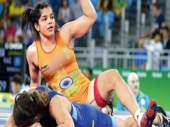 Sakshi Malik says that her aim is to win a gold medal this time.
