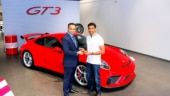 Guess who's got the latest Porsche 911 GT3?