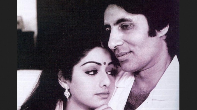 Sridevi and Amitabh Bachchan