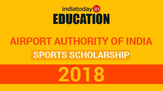 Airport Authority of India Sports Scholarship 2018