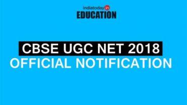 CBSE UGC NET Official Notification 2018