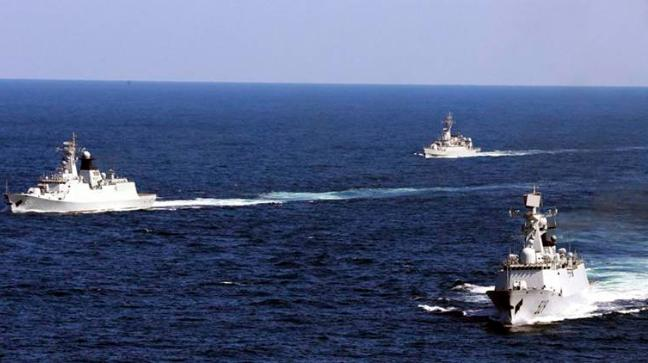 Chinese Navy in Indian Ocean