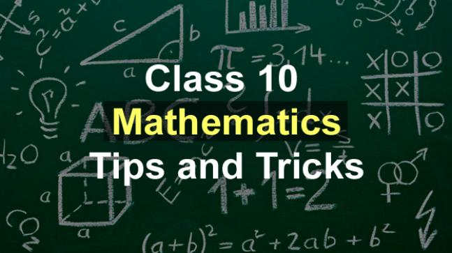 CBSE Class 10 Maths Board Exam 2018: Important tips to score