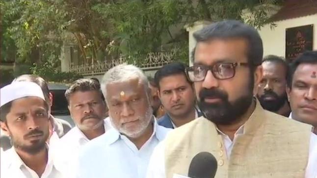 Karnataka MLA NA Haris