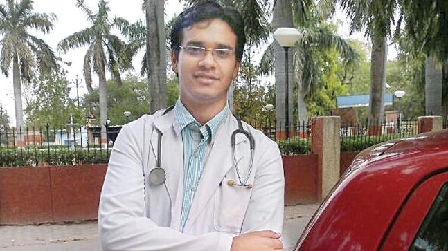 Dr Shashwat Pande was murdered in St. Stephen's Hospital in August 2017 allegedly by a fellow resident doctor. File photo