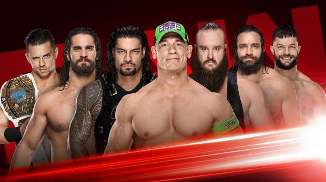 WWE Raw: Rollins battles Reigns, Cena in Gauntlet Match