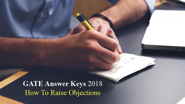GATE Answer Keys 2018