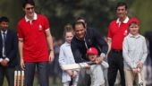 Hadrien Trudeau playing cricket is a moment we'll cherish forever