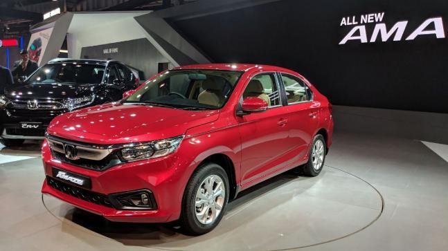 Auto Expo 2018 Honda Launches Next Generation Amaze Cr V