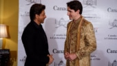 Sorry, Justin Trudeau, but you could've worn something better to meet Shah Rukh Khan & others