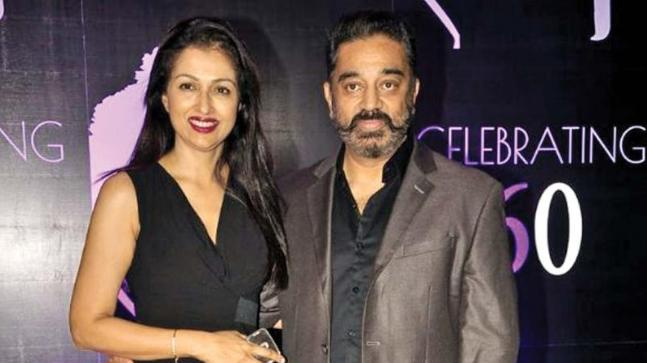 Gautami and Kamal Haasan