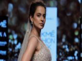 #LFW2018: Kangana Ranaut dazzles as showstopper for Shyamal & Bhumika