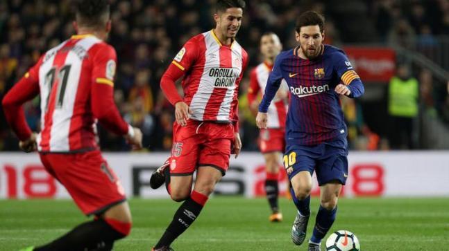 Barcelona 6 Girona 1