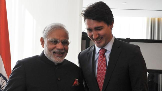 Look forward to meeting Justin Trudeau tomorrow: PM Modi finally posts his welcome tweet