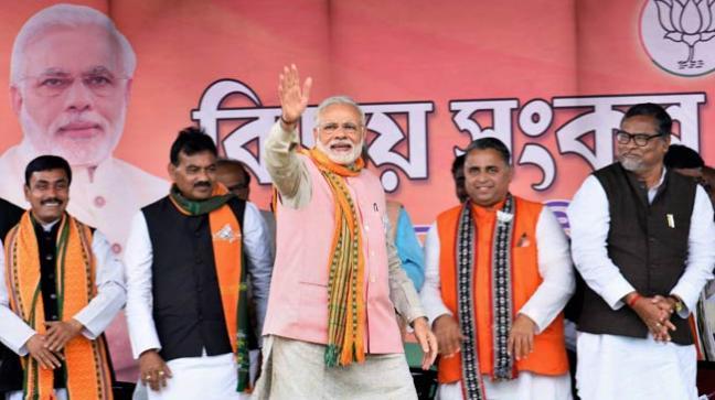 Narendra Modi in Tripura