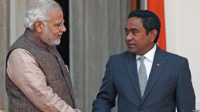 Maldives turns down India's invitation to take part in regional naval exercises