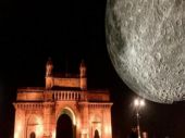 Museum of the Moon: Giant 23-feet-wide replica of Moon rises at Mumbai's Gateway of India