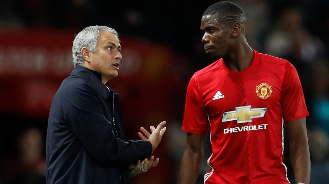 Under Jose Mourinho's 4-2-3-1 formation, Paul Pogba has a lot of defensive duties to perform that cuts down his attacking flair (Reuters Photo)