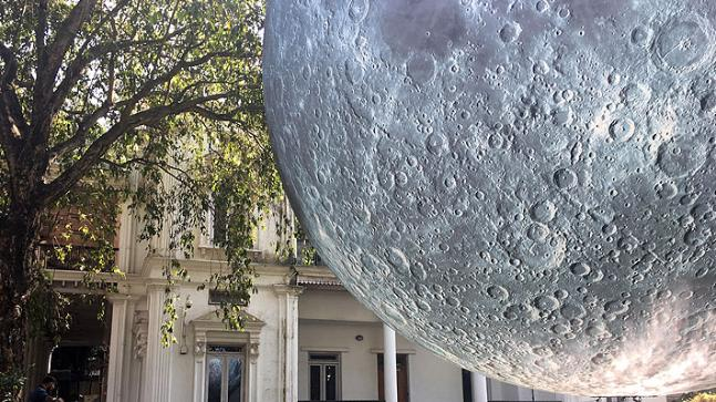 Museum of the Moon: Huge 23-feet-wide replica of Earth's satellite on display in Delhi from Friday