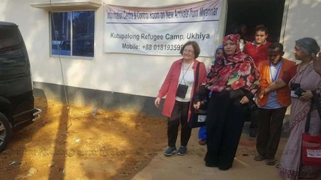Bangladesh: 3 women Nobel Peace Prize laureates visit Rohingya camp in Ukhia
