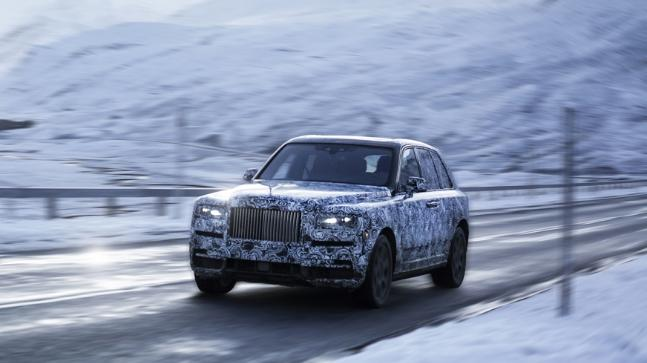 Rolls-Royce's New Luxury SUV Will Be Called Cullinan After All