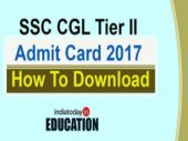 SSC CGL Tier II Admit Card 2017 released: How and where to download from