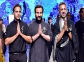 LFW 2018: Saif Ali Khan turns showstopper for designers Shatanu & Nikhil