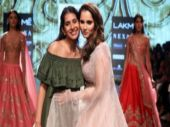 LFW 2018: Sania Mirza walks the ramp for Anushree Reddy