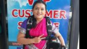 This 35-year-old woman from Pune went skydiving in a saree