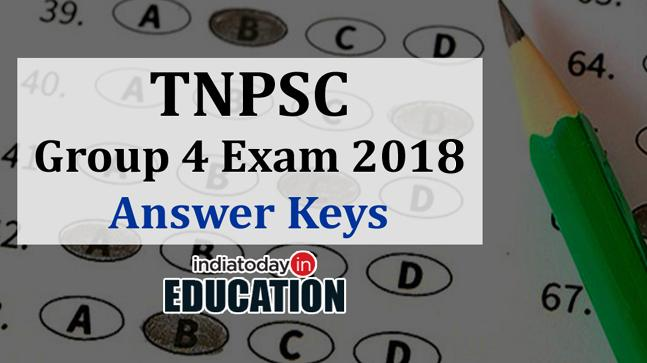 TNPSC Group 4 Exam Answer Keys 2018 to be out soon at tnpsc