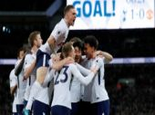 Premier League: Tottenham beat Manchester United in front of record Wembley crowd