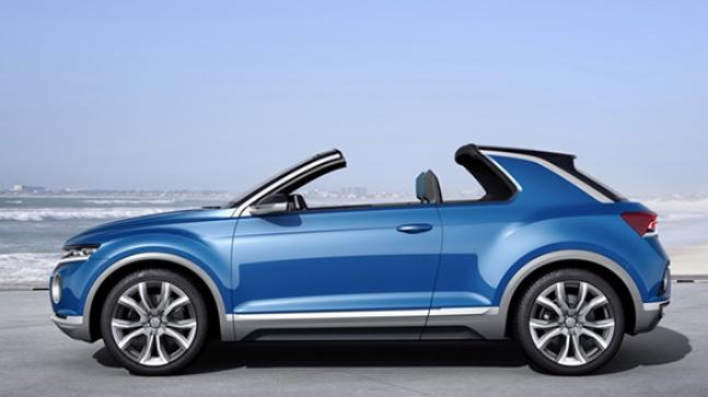 VW had showcased the T-Roc SUV at the Geneva Motor Show in 2014.