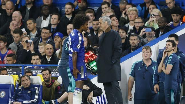 Jose Mourinho, Willian