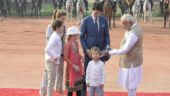 In pictures: Forget Justin Trudeau, here's how PM Modi met little Hadrien