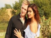 Aashka Goradia and Brent Goble kickstart the Valentine week with a lip lock