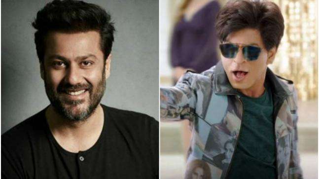 Abhishek Kapoor (L) and Shah Rukh Khan in a still from Zero