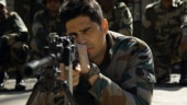 Sidharth Malhotra in a still from Aiyaary