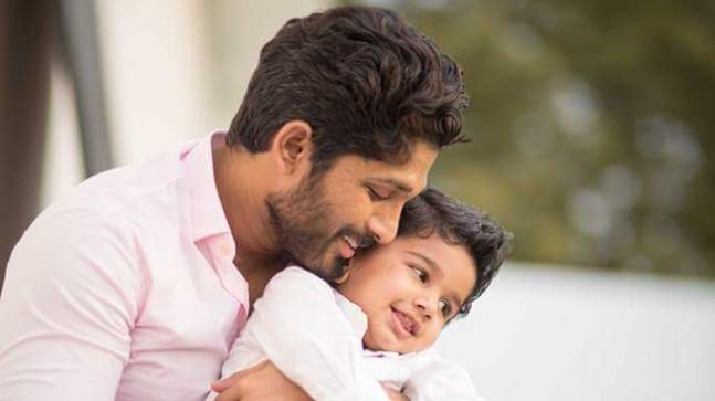 Allu Arjun and his son Allu Ayaan