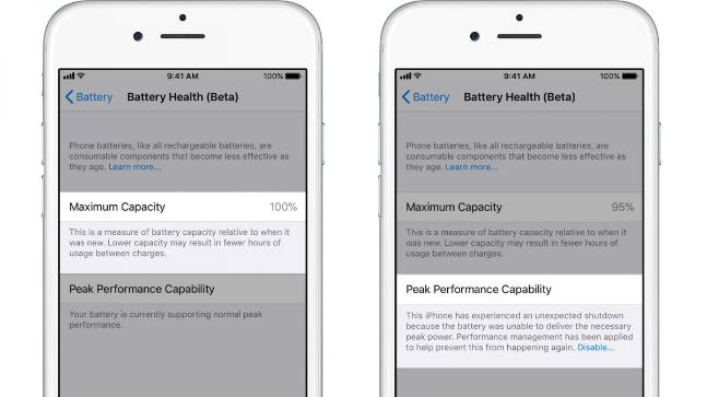 Apple Adds Battery Health Feature To Iphones With Ios 11 3
