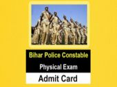 Bihar Police Constable physical exam admit card released at csbc.bih.nic.in: Know how to download